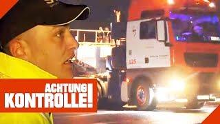60 Tonnen Schwertransport! Die ersten Probleme treten auf! 2/3 | Achtung Kontrolle | kabel eins