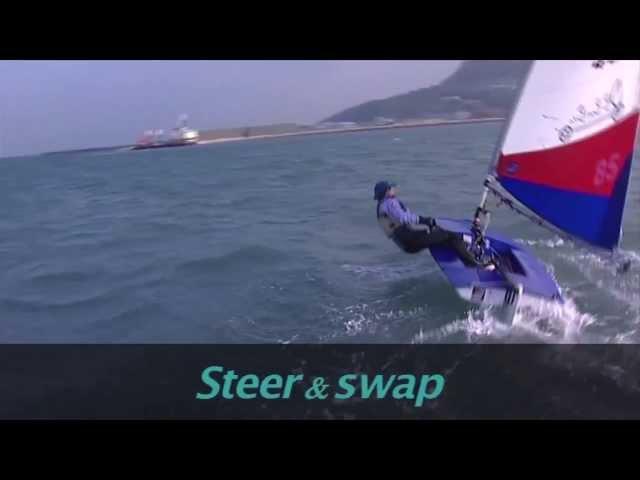 Topper - Tacking - Sailing Tips with Shirley Robertson - RYA Champion Club - Club Dinghy Sailing