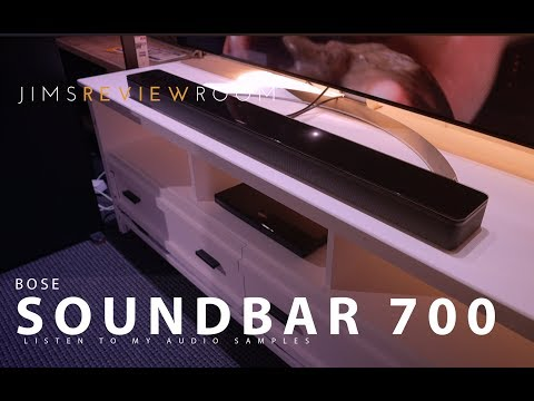 Bose Soundbar 700 - Listen to the Audio Samples!  -  REVIEW