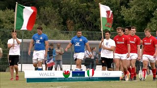 World Rugby U20 Highlights, Galles-Italia 34-17