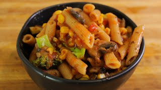 Whole Wheat Pasta Recipe – Healthy Recipe Channel – Healthy Budget Recipes