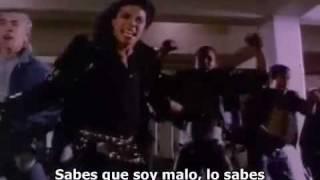 Michael Jackson Bad (traduccion Español)-VERSION COMPLETA-parte2