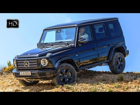 2019 Mercedes-Benz G-Class G500 Black SUV Design Overview & OFF ROAD Drive HD