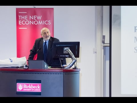 Joseph Stiglitz on rewriting the rules of the market economy