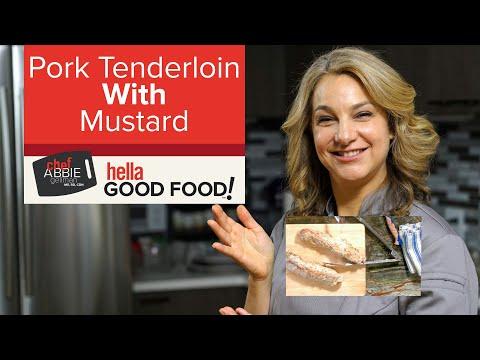 Mustard Pork Tenderloin