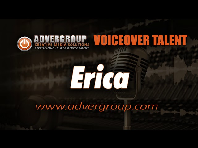 ERICA Female VOICEOV ..