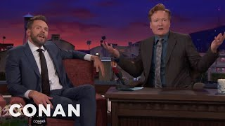 Joel McHale Is Bitter About Conan's Travel Shows  - CONAN on TBS - Video Youtube