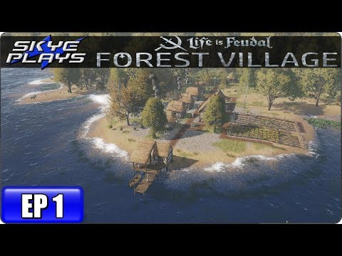 Life Is Feudal Forest Village Let's Play / Gameplay – Ep 1 – Medieval City Building Simulation Game