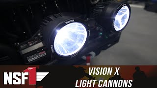 NSF1 Project Jeep Part 12: Vision X Light Cannons