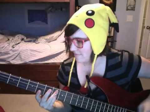 Pokemon theme song Bass Cover