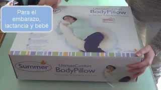 Almohada para el embarazo de Summer Infant