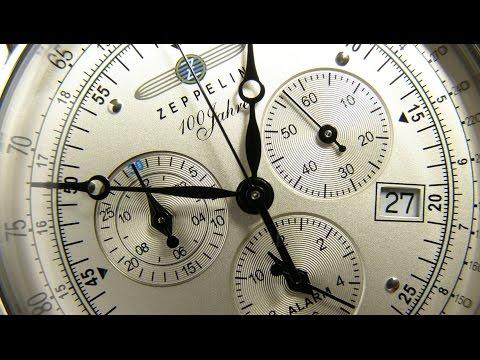 ZEPPELIN Chronograph 100 Jahre Zeppelin 7680-1