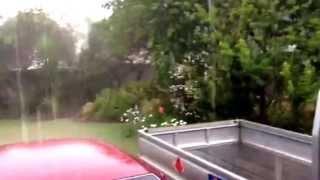 Raining Hard in Harare