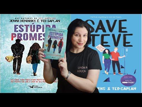 Estúpida Promessa ?livro YA dos roteiristas de How I met your Mother ?de Jenni Hendriks e Ted Kaplan