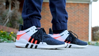 on sale 94b79 8672f ... italy 2017 adidas eqt adv support 91 16 review on feet turbo red a1af3  b93a3