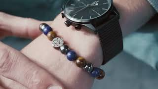 Sem Lewis Piccadilly South Kensington bracelet en perles multicolore