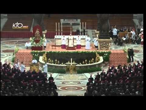 Profession de Foi avec les évêques de la CEI