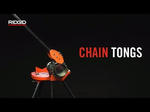 RIDGID Chain Tongs