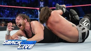 Dean Ambrose vs. AJ Styles - If Ambrose wins, he is No. 1 Contender: SmackDown LIVE, Oct. 25, 2016