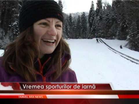 Vremea sporturilor de iarnă
