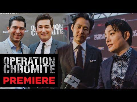 'Operation Chromite' Red Carpet Movie Premiere