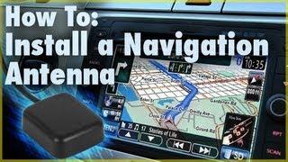 How to Install a GPS Navigation Antenna (Car Stereo Accessory) | Car Audio 101