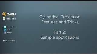 Mari 2.5 - Cylindrical Projection Part 2: Applications And In-depth Node Overview