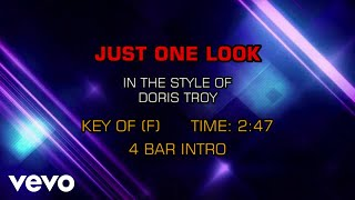 Doris Troy - Just One Look (Karaoke)