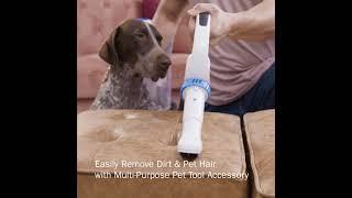 Video de la aspiradora sin bolsa vertical Pro de HART