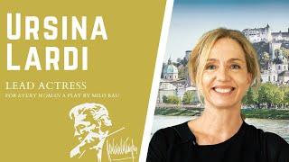 Karajan Institute Interview with Actress Ursina Lardi