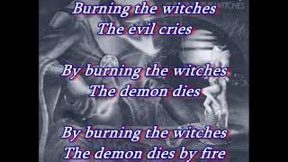 Burning the Witches-Warlock (english) LYRICS