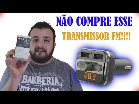NÃO COMPRE O BT20 TRANSMISSOR FM AUTOMOTIVO ANTES DE VER ESSE VÍDEO!! [REVIEW]