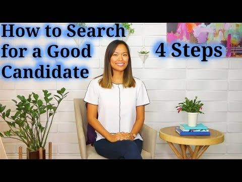 , title : 'How to Search for a Good Candidate - How to Recruit a Good Job Candidate (2 of 5)