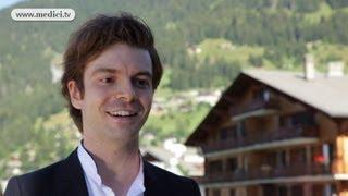 2012 Verbier Festival - interview #17 - David Kadouch
