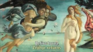 Claudio Monteverdi Zefiro Torna Lyrics