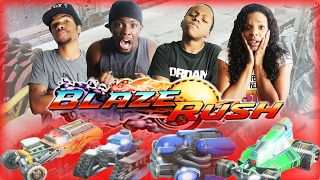 HIGH SPEED RACE TO THE DEATH! - Family Beatdown 13 Pt.4 I Blaze Rush Gameplay