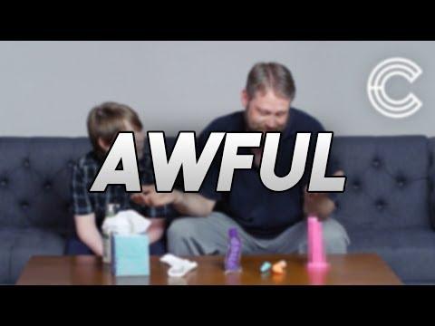 Parents explain masturbation to children.