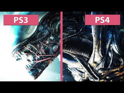 Alien: Isolation - PS3 vs. PS4 Graphics Comparison [Full HD]