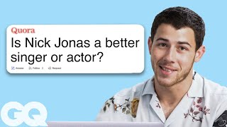 Nick Jonas Goes Undercover on Reddit, YouTube, Twitter and Instagram | Actually Me | GQ
