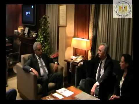 الوزير/طارق قابيل خلال مباحثاته مع نائب رئيس الوزراء ووزير التجارة الخارجية بجمهورية البوسنة والهرسك