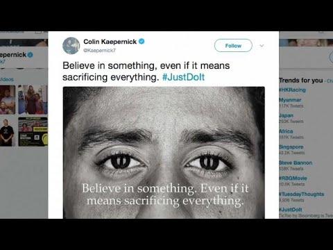 3fc9c05969410 Nike wirbt mit NFL-Star und Protestauslöser Colin Kaepernick