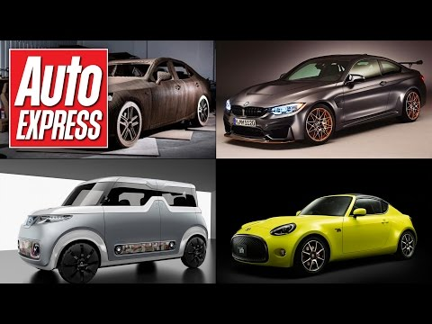Toyota S-FR coupe, BMW M4 GTS & Nissan Teatro concept - Car news in 90 seconds