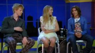Lemonade Mouth - Livin on a High Wire (Music Video) with Lyrics