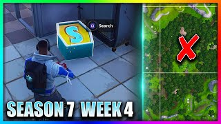"""""""Search The Letter S in Wailing Woods"""" Fortnite Week 4 (LOCATION GUIDE)"""