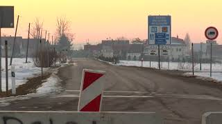 Polsko- słowackie przejście graniczna w Suchej Horze