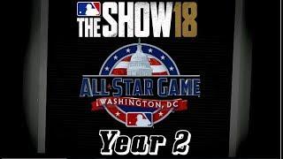 MLB 18 The Show - Texas Rangers Franchise Yr 2 - All-Star Game