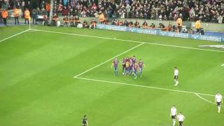 preview picture of video 'Lionel Messi 3rd Goal 5:1 FC Barcelona - Valencia CF Camp Nou'