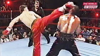 The Brutal Fight - Muay Thai vs Kickboxing