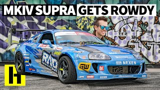 A 650hp Mullet Powered MkIV Toyota Supra - That Actually Gets Thrashed! Rad Dan Rips in the Yard