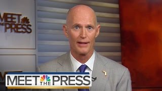 Governor Rick Scott On Zika In Florida, Decision 2016 (Full Interview) | Meet The Press | NBC News